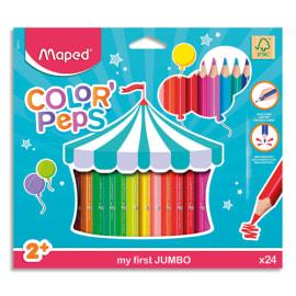 MAPED Pochette carton de 24 Crayons de couleur EARLY AGE photo du produit
