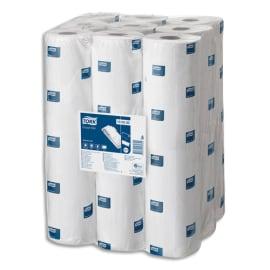 TORK Colis de 9 Draps d'examen 165 feuillets 2 plis Blanc - Format : L33 x l50 cm, Longueur 54,45 mètres photo du produit