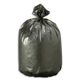 Boîte de 500 sacs poubelles Noirs top qualité NF 30 litres 21 microns photo du produit