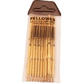 FELLOWES Recharge pour stylo bille sur socle pointe fine coloris Noir photo du produit