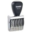 TRODAT Numéroteur 8 bandes - 1548 à encrage séparé. Hauteur caractères 4mm photo du produit