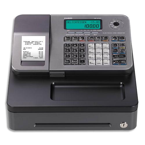 CASIO Caisse enregistreuse SES100 petit tiroir argent SE-S100SB-SR-FR compatible fiscalité 2018 photo du produit Principale L