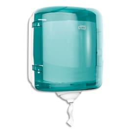 TORK Distributeur Maxi Reflex M4 Bleu turquoise, à dévidage central - Dimensions : L25 x H30 x P25 cm photo du produit