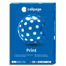 CALIPAGE Ramette 500 feuilles papier Blanc Calipage Print A4 80G CIE 161 photo du produit