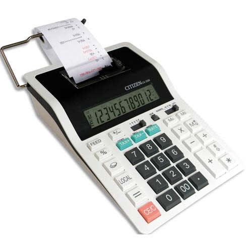 CITIZEN Calculatrice imprimante professionnelle 12 chiffres CX32N 7202002 photo du produit Principale L