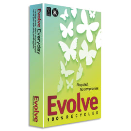 ALIZAY Ramette 500 feuilles papier Blanc EVOLVE Everyday 100% recyclé A4 80G CIE 150 photo du produit