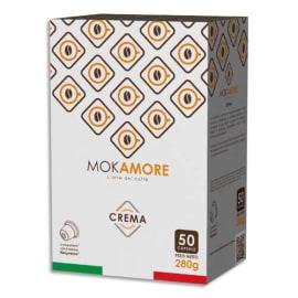 MOKAMORE Boîte de 50 Dosettes de café mousseux compatibles avec machine à café Nespresso photo du produit