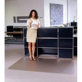 FLOORTEX Tapis antidérapant en polycarbonate pour sol dur 119 x 89 cm photo du produit