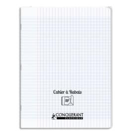 OXFORD C9 Cahier 24x32, 96 pages, 90g, Seyès, couverture polypro incolore avec rabat photo du produit