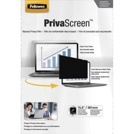 FELLOWES Filtre de confidentialité PrivaScreen 15'' (4/3) pour ordinateurs fixes et portables 4800101 photo du produit