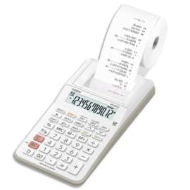 CASIO Calculatrice imprimante portable 12 chiffres HR-8 RCE Blanche photo du produit
