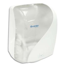 LUCART Distributeur Identity hands Blanc transparent en ABS, pour essuie-mains, L40 x H25,1 x P30,5 cm photo du produit
