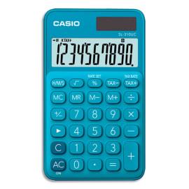CASIO Calculatrice de poche 10 chiffres Bleue SL-310UC-BU-S-EC photo du produit