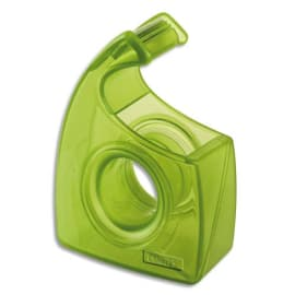 TESA Dévidoir escargot recyclé Vert transparent Easy Cut photo du produit