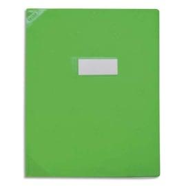 OXFORD Protège-cahier 21x29,7cm Strong Line opaque 15/100è + coins renforcés (30/100è). Coloris vert photo du produit