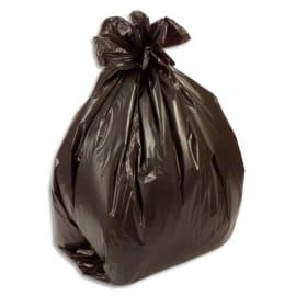 Boîte de 500 sacs poubelles fin 50 litres Noir 14 microns photo du produit
