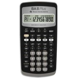 TEXAS INSTRUMENTS Calculatrice financière BA-II-Plus IIBAPL/TBL/4E2/B photo du produit