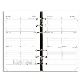 QUO VADIS Recharge Timer format 21, 1 semaine sur 2 pages à l'horizontale papier Blanc photo du produit