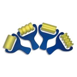 GRAINE CREATIVE Lot de 4 rouleaux en mousse assortis avec bac photo du produit
