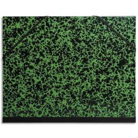 EXACOMPTA Carton à dessin fermeture par élastiques 52x72 cm pour feuilles 50x65 cm photo du produit