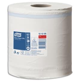 TORK Lot de 6 Bobines papier d'essuyage Basic à dévidage central M2 160m Format prédécoupé 20x35 cm Blanc photo du produit