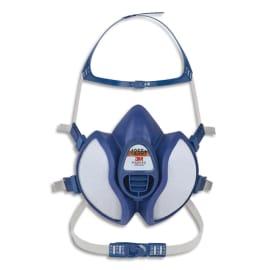 3M Masque coque 4251+ gaz et vapeurs FFA1P2RD jeu de brides et harnais, soupape parabolique K4251+ photo du produit