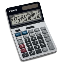 CANON Calculatrice de bureau professionnelle 12 chiffres, tax+/tax-, écran inclinable KS-1220TSG photo du produit