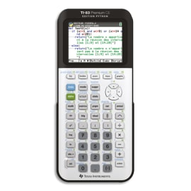 TEXAS INSTRUMENTS Calculatrice graphique TI-83 Premium CE Edition Python 83PREP/TBL/1E2 photo du produit