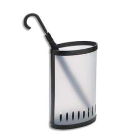 ALBA Porte-parapluie en polypropylène Translucide, Capacité : 8 à 10 parapluies Dim : 38 x 22,5 x 60 cm photo du produit