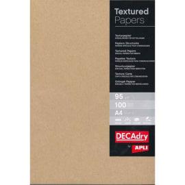 DECADRY Boîte de 100 feuilles papier kraft A4 95 g ALFAC PCL 1684 photo du produit