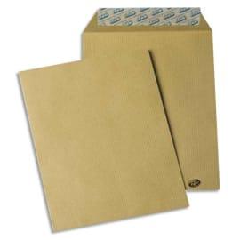 GPV Paquet de 50 pochettes kraft brun auto-adhésives 85g format C5 162 x 229 mm photo du produit
