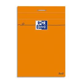 OXFORD Bloc IDEA format 8,5 x 12 cm 80 grammes réglure 5x5 301203 photo du produit