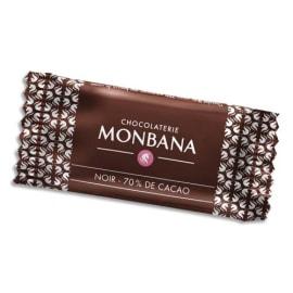 MONBANA Boîte de 200 chocolats napolitains de 4g 70% cacao emballés individuellement photo du produit