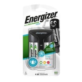 ENERGIZER Chargeur PRO Noir 2 ou 4AA et AAA,avec 4 Accu 2000 mAh trois indicateurs lumineux 7638900398373 photo du produit