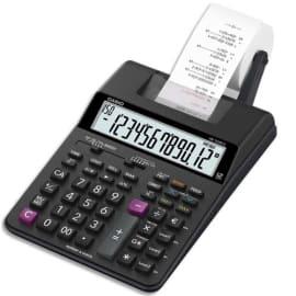 CASIO Calculatrice imprimante portable bureau 12 chiffres HR-150 RCE Noire photo du produit