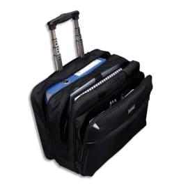 LIGHTPAK Pilot Case Trolley Noire en polyester compartiments + poches L43 x H34 x P20 cm photo du produit