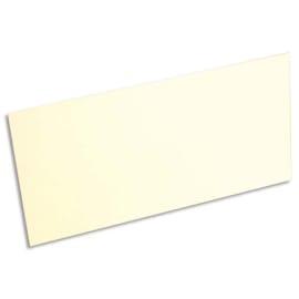 CLAIREFONTAINE Paquet de 25 cartes 210g POLLEN 10,6x21,3cm. Coloris Ivoire photo du produit