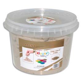 Pot de 5 kg de sable magique kinétic aux couleurs naturelles photo du produit