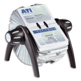 DURABLE Fichier rotatif Visifix flip en ABS - 25 touches alphabétique - L215 x H120 x P185 mm - Noir photo du produit