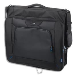 LIGHTPAK Porte habits Noir avec poignée et bandoulière amovible 60x54x9 cm 46131 photo du produit