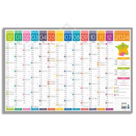 CBG Calendrier tendance maxi, 13 mois au recto et Blanc au verso - format : 43 x 65 cm photo du produit