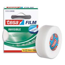 TESA Ruban adhésif invisible 19 mm x 33 m en boîte individuelle photo du produit