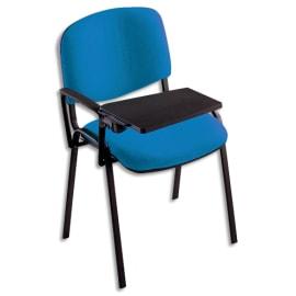Tablette écritoire rabattable +accoudoir droit Noirs Dim. L35 x H1,8 x P25 cm, pour chaises de conférence photo du produit