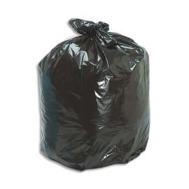 Boîte de 200 sacs poubelles 100 litres Noir 45 microns photo du produit