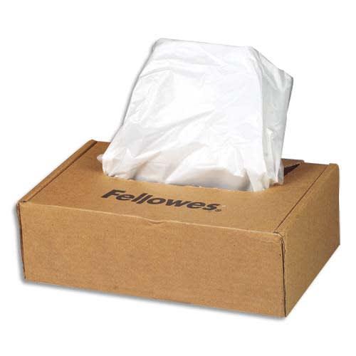 FELLOWES Boîte de 50 sacs de destructeurs de 53 à 75 litres - Séries 125/225 - 36054 photo du produit Principale L