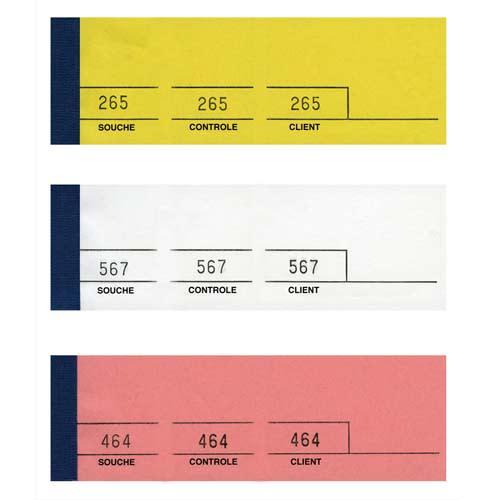 ELVE Bloc passe-partout 100 feuillets Jaune 5 x 15 cm photo du produit Principale L
