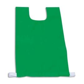 FIRST LOISIRS Lot de 12 chasubles simples 60 x 35 cm, coloris : Vert photo du produit