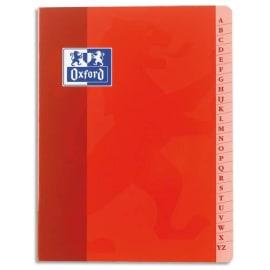 OXFORD Répertoire reliure piqûre 21x29,7cm 96 pages petits carreaux 5x5 papier 90g photo du produit