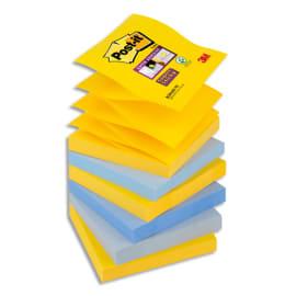POST-IT Z-Notes Super Sticky New York 76 X 76 mm 6 blocs de 90 feuilles photo du produit