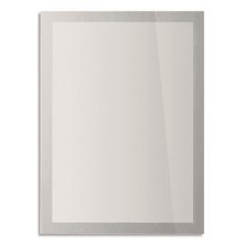 DURABLE Sachet de 2 Cadres d'affichage Sun contour argenté, anti UV repositionnable, ft A4 L23,4xH32,1 cm photo du produit